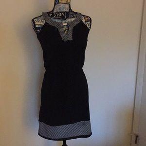 Black & white dress from White House black market
